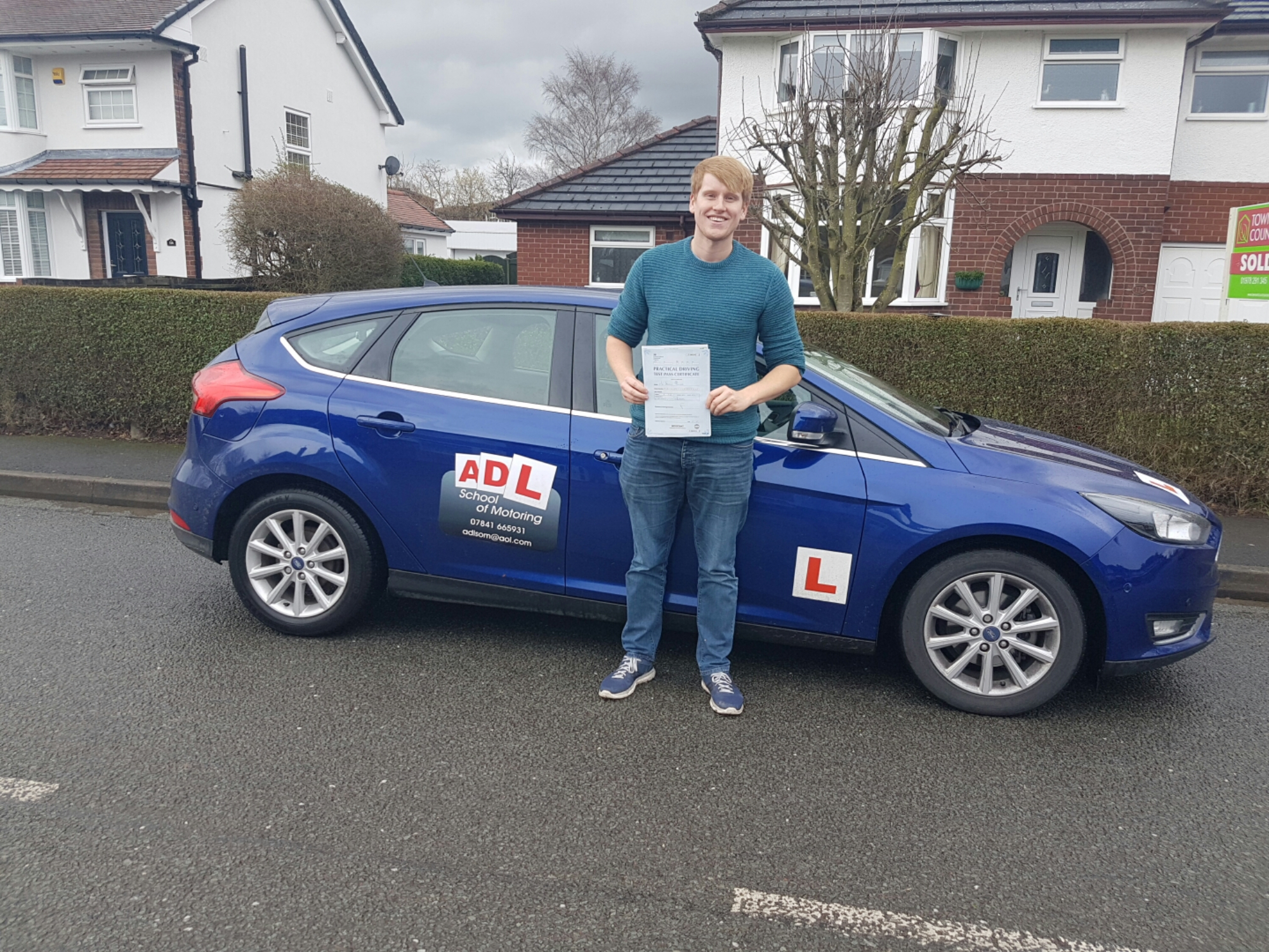 More success for ADL school of motoring today.