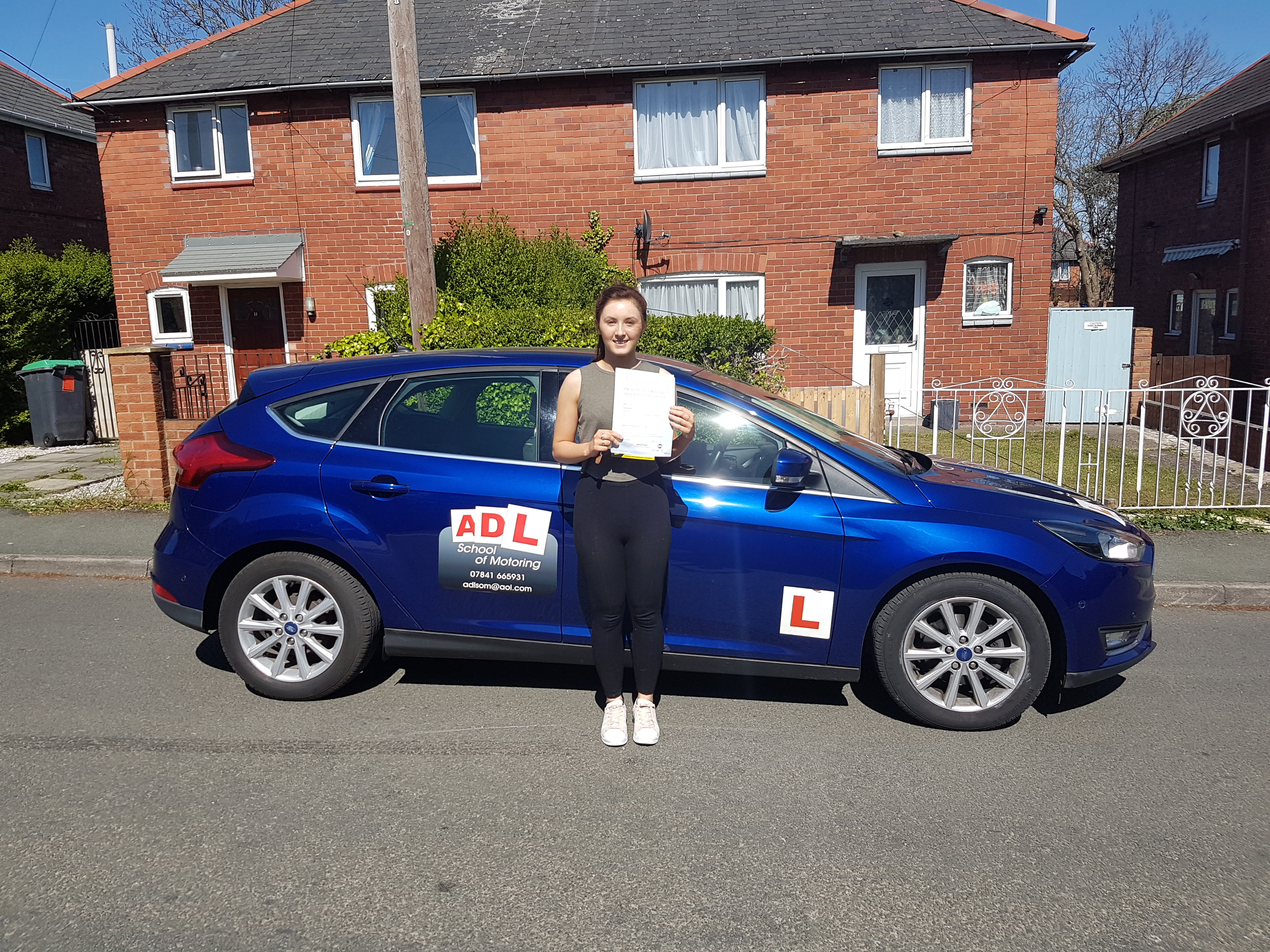 More first time success for ADL SCHOOL OF MOTORING