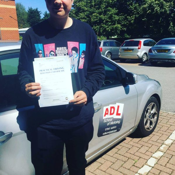 4 passes this week for ADL SCHOOL OF MOTORING.