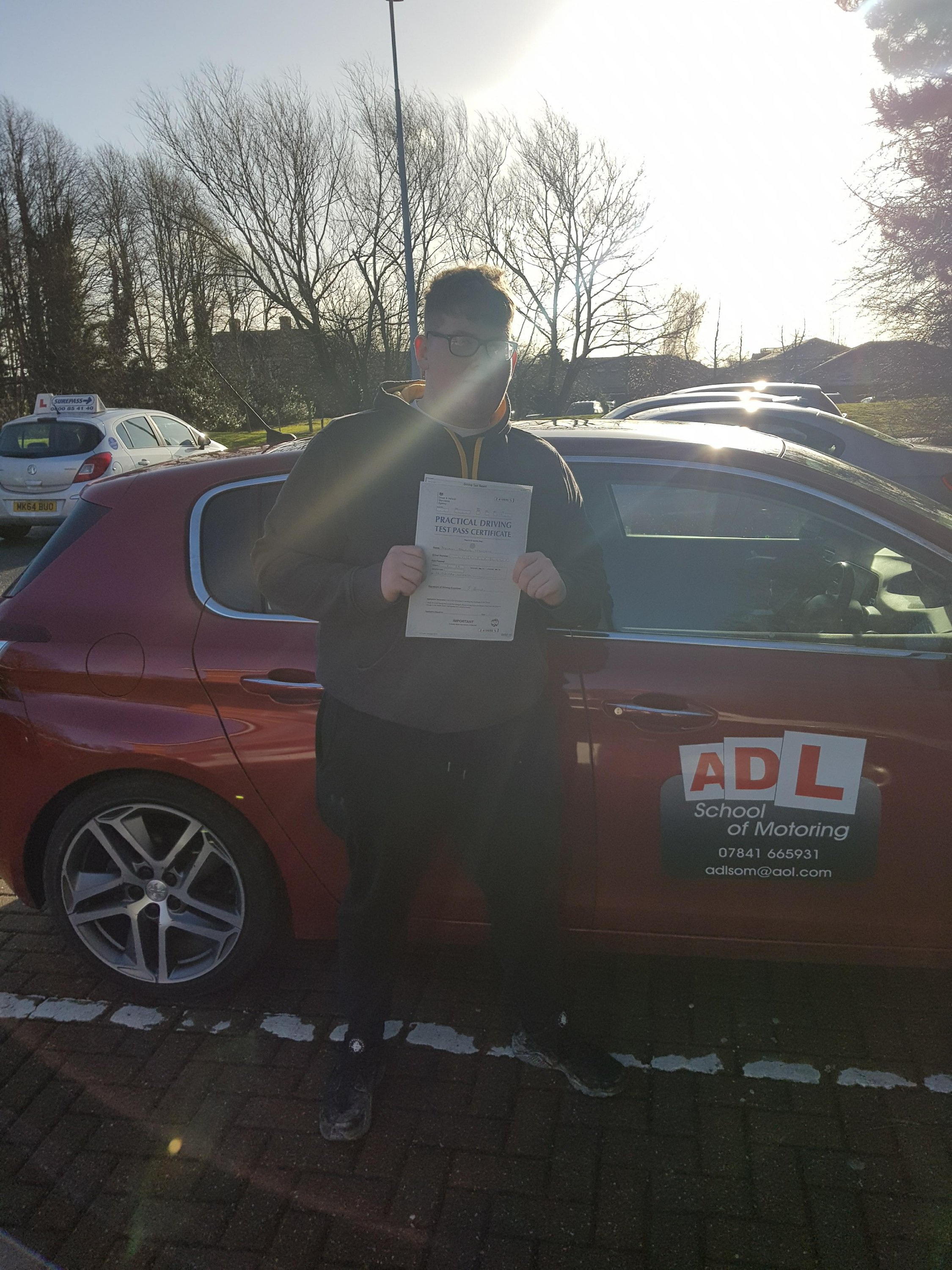 4 test passes in one week for ADL SCHOOL OF MOTORING